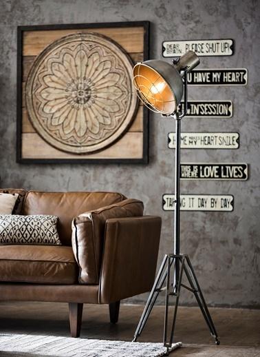 Warm Design Lori Embossed Tasarımlı Duvar Dekoru (c) Renkli